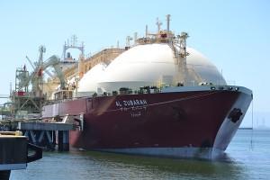 中電・知多LNGターミナルの受入隻数が3500隻達成