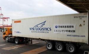 郵船ロジ、CAコンテナ用い農産物の貯蔵試験実施