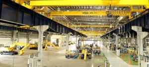 コマツ、インド・チェンナイで油圧ショベル工場開設