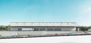 鴻池運輸、岡山市に物効法認定の新拠点開設