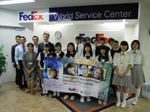 フェデックスの起業企画イベントで啓明学園高優勝