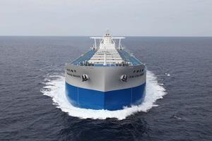 JMU、CSEトランスポート向け貨物船を引渡し