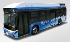 トヨタと日野、東京都で燃料電池バスの実証実験