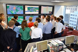 オランダ・デルフト工科大の学生34人が商船三井訪問