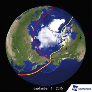 北極海航路が13年以来の2航路開通