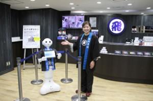 佐川急便、東京駅構内にヒト型ロボット導入