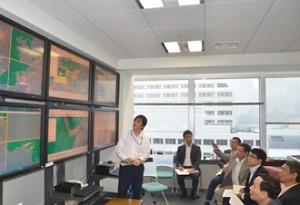商船三井、ベトナム気象局に安全運航の取組み説明