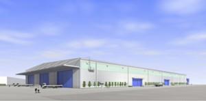 日通、横浜本牧物流拠点に鉄鋼専用の新倉庫建設