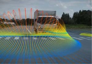 三菱電機、予防安全コンセプトカーを開発