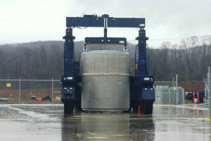 日立造船、高レベル放射性廃棄物を屋外乾式貯蔵