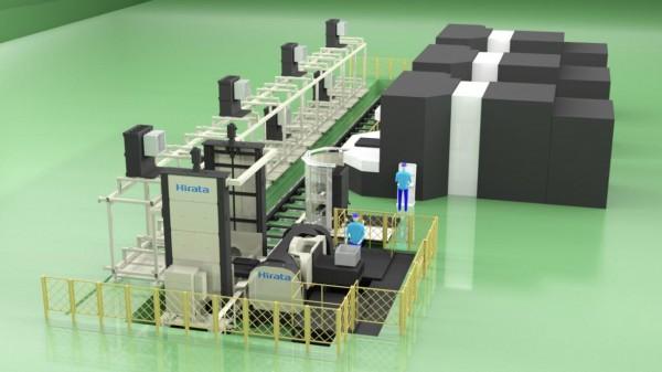 平田機工、最大4トン搬送可能な自動パレ搬送システム開発