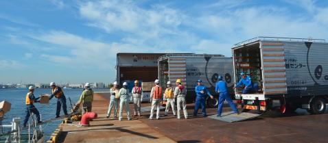 サカイ引越センター、堺泉北港の防災訓練に参加
