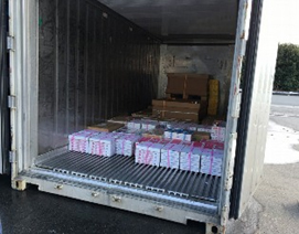 日通、徳島県のシンガ向け農産品試験輸送を支援