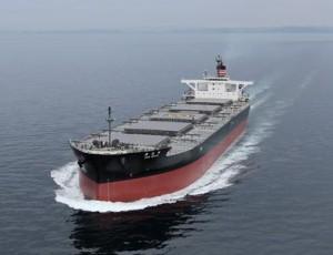 日本郵船、中国電力向け石炭運搬船が竣工
