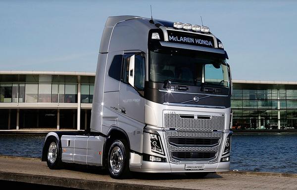 ボルボ・トラック、マクラーレン・ホンダに輸送機能提供