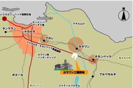 伊藤忠、ネシア・カラワン工業団地で200haの造成着手