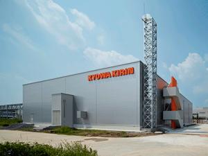 協和発酵キリン、中国で新固形剤棟が稼働