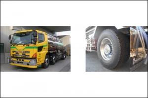 三和運輸(奈良)、新ローリー車にミシュランXワン装着