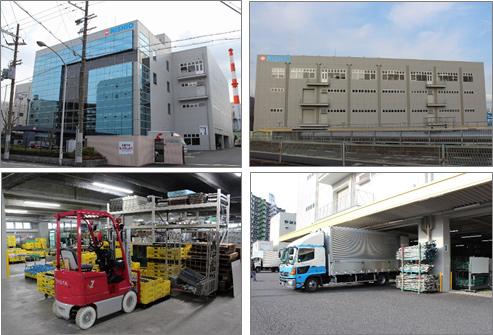 西尾レント、営業・物流機能集約へ大阪に基幹拠点