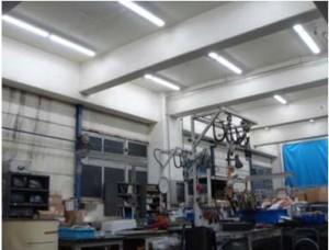 SBS即配サポート、中間処理施設にCCFL照明導入