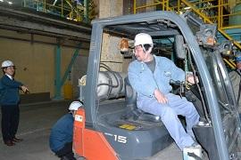 昭和電工セラミックス、富山工場でフォーク講習