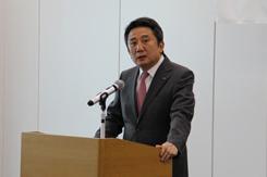 川崎汽船入社式、村上社長「グローバルに信頼されるKへ」2