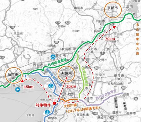ラサール、堺市に関西最大級15万m2の大型物流施設開発3
