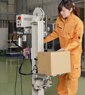 神栄テストマシナリー、小型包装貨物特化の落下試験機1
