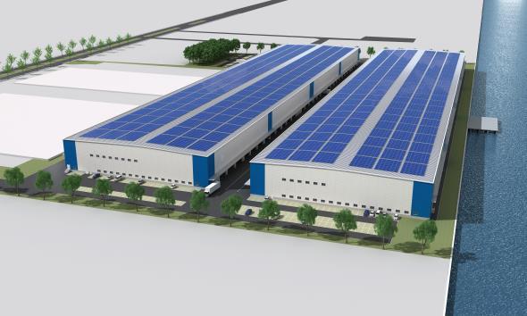 ラサール、堺市に関西最大級15万m2の大型物流施設開発2