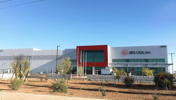 アイリス、米アリゾナ州で製造・物流拠点竣工、稼動開始
