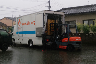 日本ガイシ、熊本被災地に備蓄食料品寄贈2