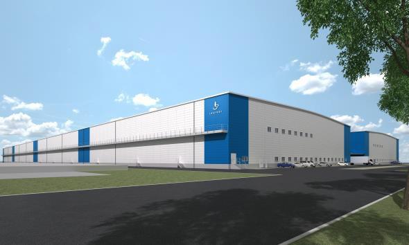 ラサール、堺市に関西最大級15万m2の大型物流施設開発