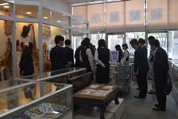 名古屋税関、愛知海運の社員14人の訪問受け入れ