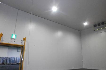 新柏倉庫、柏インターの定温倉庫完成2