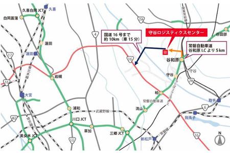 オリックス、茨城県に延べ1万4473坪の物流施設竣工4