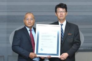 日通NECロジ、タイ子会社が品質管理の国際認証取得