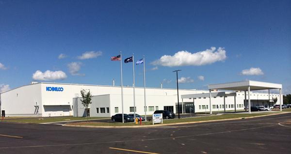 コベルコ建機、米国にショベルカー生産工場を開所
