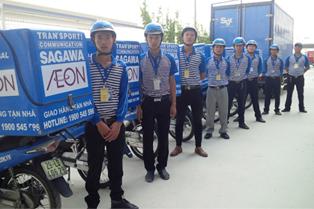 SG佐川ベトナム、現地イオンで4店目の保冷配送開始2