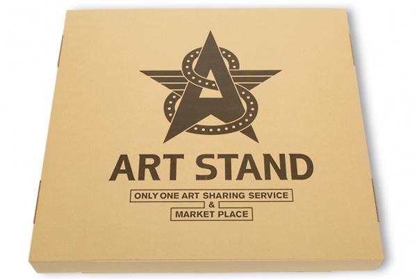 ARTSTAND、絵画運搬専用の段ボール箱を開発