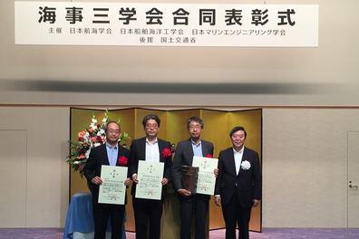 日本郵船、LNG燃料タグボート「魁」が技術特別賞