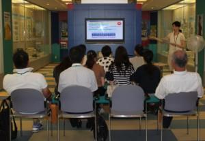 大阪税関、南海通運など2社の見学受け入れ