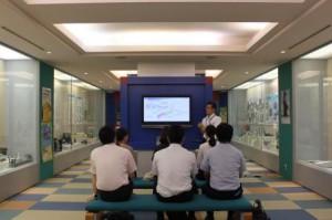 大阪税関、AITの見学を受け入れ