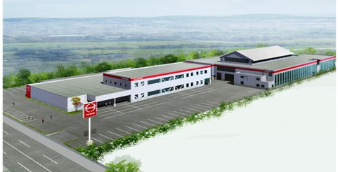 北海道日野、本社・札幌支店をリニューアル