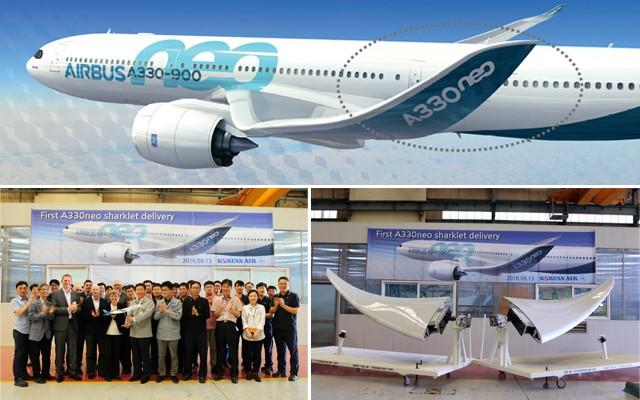大韓航空、A330ネオ向け部品の製造を開始