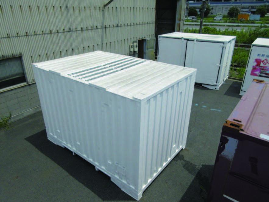 JR貨物南関東ロジ、食品鮮度管理の新コンテナ
