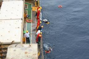 日本郵船、インドネシア沖で遭難した乗組員9人救助