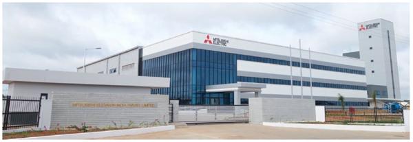 三菱商事、インドのエレベーター新工場稼働開始