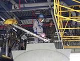 出光興産、災害時の石油供給訓練に参加