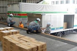 日本自動車ターミナル、東京都の緊急物資輸送訓練に参加2