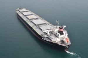 日本郵船、東北電力向け3代目石炭専用船竣工